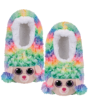 Ty Fashion Rainbow The Poodle Slipper Socks