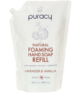 Puracy Natural Foaming Hand Soap Refill