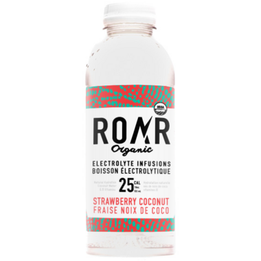 ROAR Organic Strawberry Coconut Organic Electrolyte Infusion