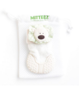 MITTEEZ Organic Developmental Teething Mitty & Baby Keepsake Green