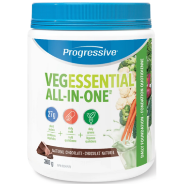 Progressive VegEssential All in One Natural Chocolate