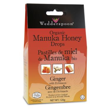 Wedderspoon Organic Manuka Honey Drops