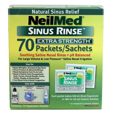 NeilMed Sinus Rinse Extra Strength Refill
