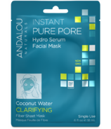 ANDALOU naturals Instant Pure Pore Facial Sheet Mask