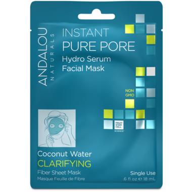 ANDALOU naturals Instant Pure Pore Facial Sheet Mask