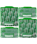 Russbe Reusable Snack and Sandwich Bags Forest
