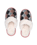 Pudus Slide Slippers Argyle Blush