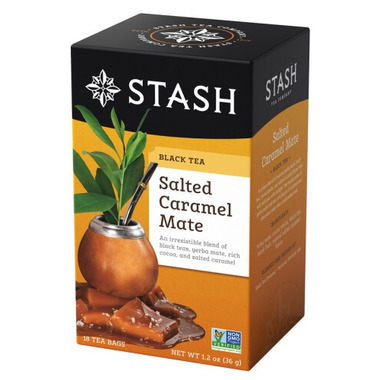 Stash Salted Caramel Mate Herbal & Black Tea