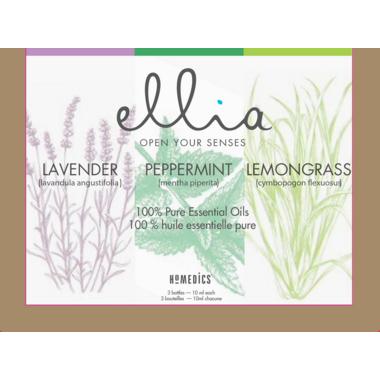 Ellia 100% Pure Essential Oil 3 Pack