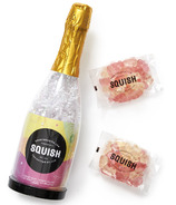 Squish Champagne Bottle with Vegan Sparkling Bears