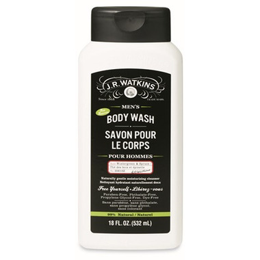 J.R Watkins Men\'s Wintergreen And Spruce Body Wash