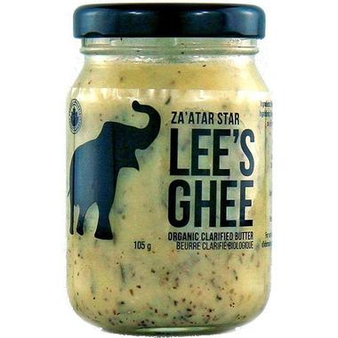 Lee\'s Ghee Za\'atar Star Middle Eastern Spiced Ghee