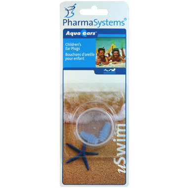 PharmaSystems Aqua Ears Children\'s Ear Plugs