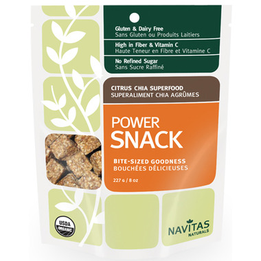 Navitas Naturals Organic Citrus Chia Power Snack