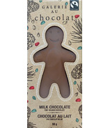 Galerie au Chocolat Pure Milk Chocolate Gingerbread Man