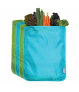 ChicoBag Moisture Locking Produce Bag Set Blue/Green