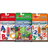 Melissa & Doug Water WOW! Animals, Alphabet & Numbers Bundle