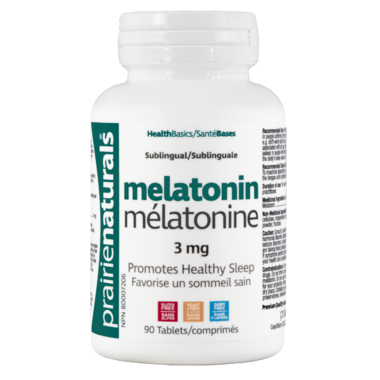 Prairie Naturals Sublingual Melatonin 3 mg