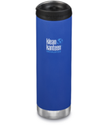 Klean Kanteen TKWide With Cafe Cap Deep Surf