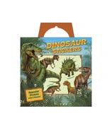 Peaceable Kingdom Dinosaur Reusable Sticker Tote