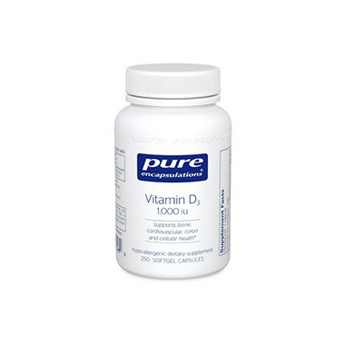 Pure Encapsulations Vitamin D3 1,000 I.U.