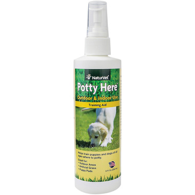 Naturvet Potty Here Outdoor & Indoor Training Aid Spray
