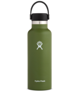 Hydro Flask Standard Mouth with Standard Flex Cap Olive
