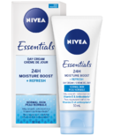 Nivea Essentials 24h Moisture Boost + Refresh Day Cream for Normal Skin