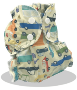 AppleCheeks Who Cars Diaper Cover