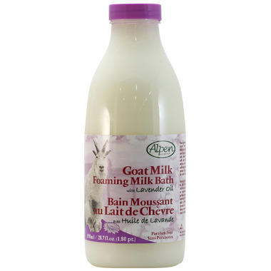 Alpen Secrets Goat Milk Foaming Bath