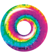 Incredible Novelties Tye Dye Inflatable Pool Ring