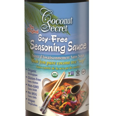 Coconut Secret Organic Coconut Aminos Soy Free Seasoning Sauce