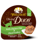 Wellness Divine Duos Chicken Pate & Diced Turkey