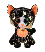 Ty Flippables Jinx The Halloween Sequin Cat Regular