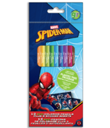 greenre Eco-Marvel Spiderman Colouring Pencils with Stickers