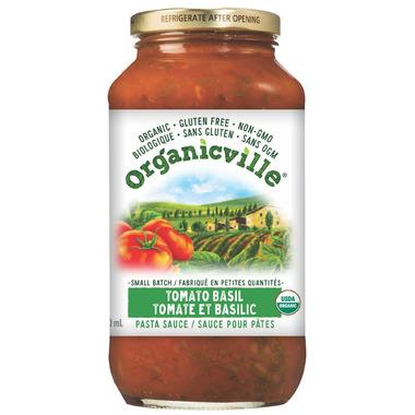 Organicville Tomato Basil Pasta Sauce