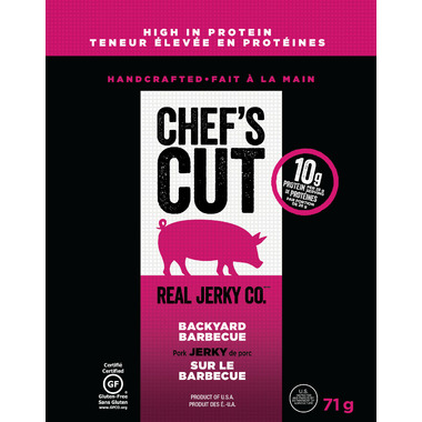 Chef\'s Cut Pork Jerky Backyard Barbecue