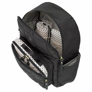 Petunia Pickle Bottom District Diaper Backpack Shadow Black
