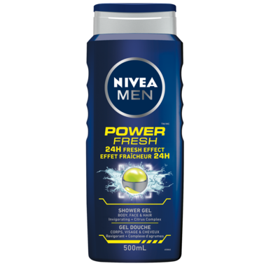 Nivea Men Power Fresh 24H Fresh Effect Shower Gel