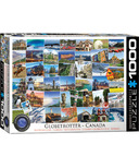 Eurographics Globetrotter Canada Puzzle