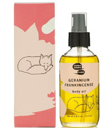 meow meow tweet Frankincense and Flowers Body Oil