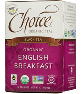 Choice Organic Teas English Breakfast Tea