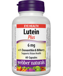 Webber Naturals Lutein with Bilberry