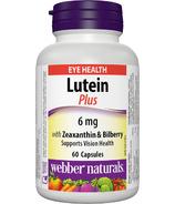 Webber Naturals Lutein with Bilberry