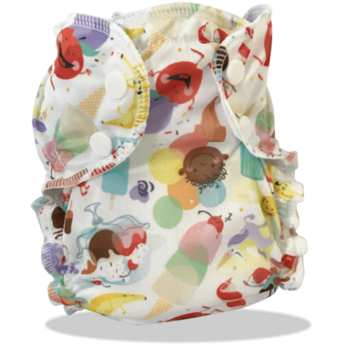 Applecheeks Swim Diaper Whirl\'d Peace
