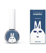 Recipebox Peel Off Nail Polish Royal Pearl Blue