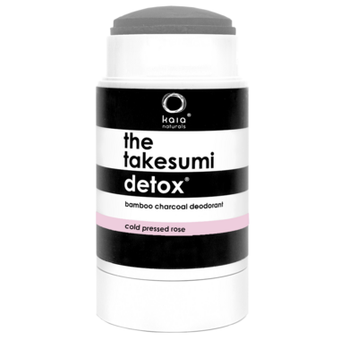 Kaia Naturals The Takesumi Detox Charcoal Deodorant Cold Pressed Rose