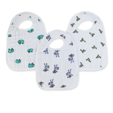aden + anais Nibble Snap Bibs Jungle Jam