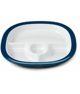 OXO Tot Melamine Divided Plate Navy