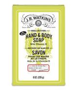 J.R Watkins Aloe & Green Tea Castile Hand & Body Bar Soap